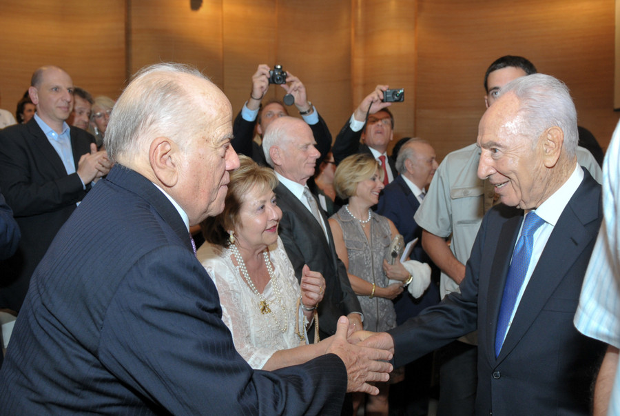 Zaborowsky with peres